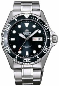 """ORIENT """"Ray 2"""" Diving Sport Automatic 200M Watch Black Dial FAA02004B"""