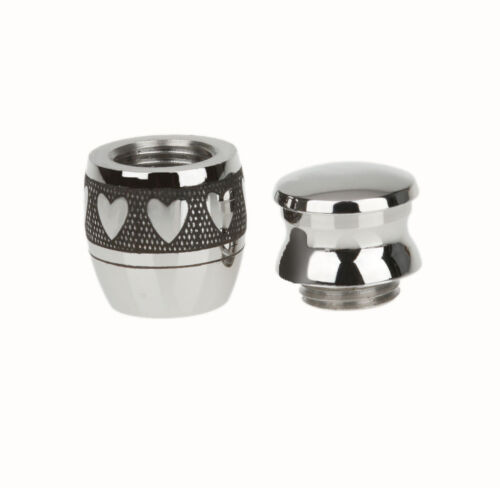 2pcs Mini Keepsake Urn Small Cremation Urn for Ashes Funeral Urn Love Heart