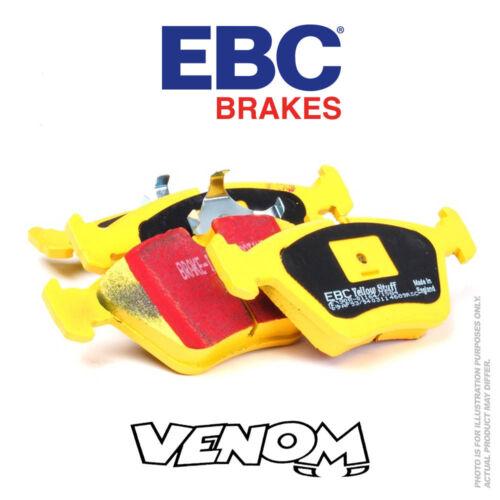 EBC YellowStuff Front Brake Pads for Opel Calibra 2.0 Turbo 92-97 DP4976R