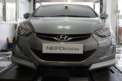 NEFD Design Front Bumper Lip Unpainted For Hyundai Elantra Avante MD 2011 2016