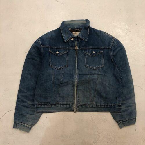 MONTGOMERY WARD 101 Denim jacket Lining flannel 70