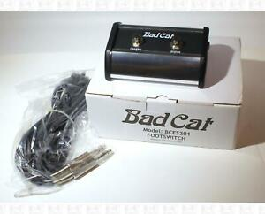 Bad-Cat-BCFS201-Two-Button-Guitar-Amp-Foot-Switch-Kustom-KACFS201-Equivalent