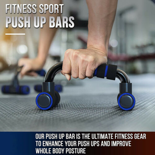 Training Push Up Bars Stands Foam Handles Push-Up Exercise Fitness Equipment