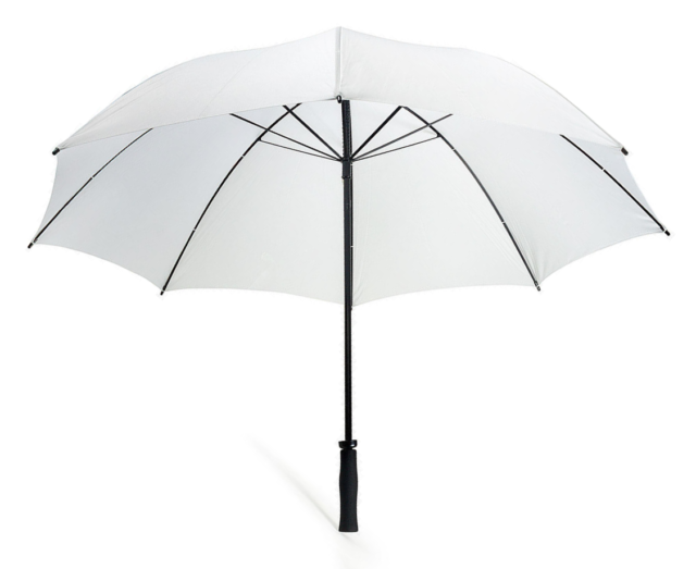 c96b0549095a Unisex Large Florentina White Golf Umbrella Windproof Canopy Rain Sun Strong