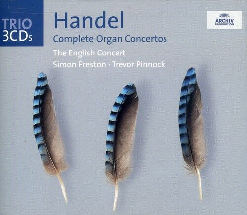1 of 1 - Simon Preston, Les L - Complete Organ Concertos [New CD]