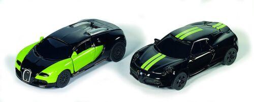 Siku Super Black /& Green Special Edition Pkw Set Art.6309