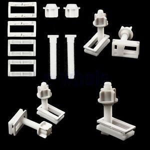 1 paar wc sitz montage reparatur scharnier bolzen ersatz schrauben befestigung. Black Bedroom Furniture Sets. Home Design Ideas