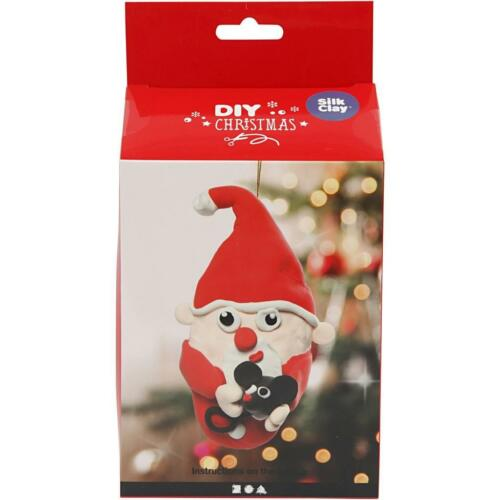 Silk Clay À faire soi-même Set Pour Noël Santa Claus Making Moulage Modélisation Artisanat