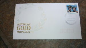 2004-AUSTRALIAN-OLYMPIC-GOLD-MEDAL-STAMP-FDC-MENS-ROWING-TEAM-CHATSWOOD-PM