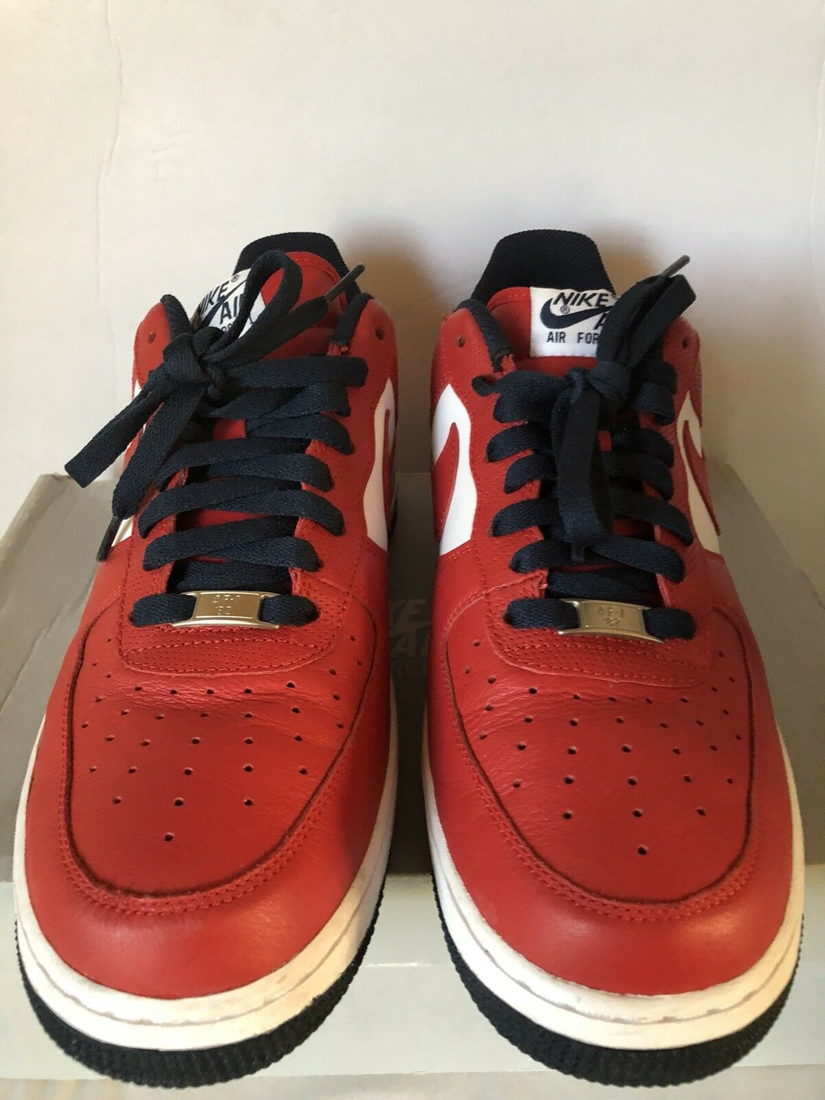 Nike Air Force 1 Team Red/Navy Men's Size 10