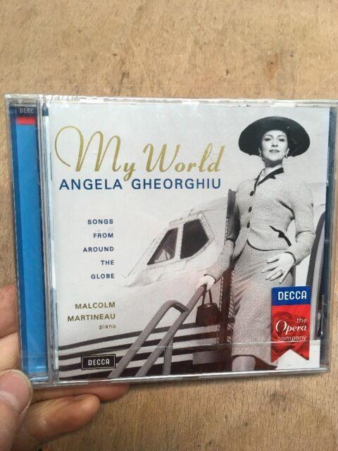 Angela Gheorghiu-My World CD New+Sealed Decca Opera Martin Martineau Piano