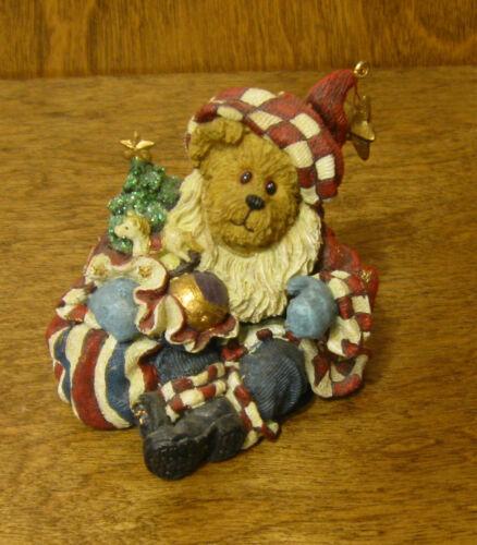 Americana Boyds Bearstone #228399PAW Nicholas Bearyproud..All American Christmas
