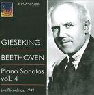 Beethoven: Piano Sonatas, Vol. 4 (CD, Feb-2010, 2 Discs, IDIS)