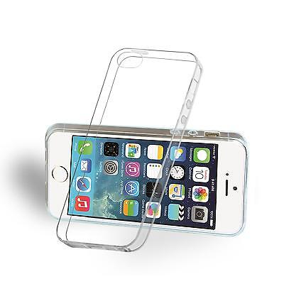 Handy Hülle Apple iPhone 5 / 5S SE Case Schutz Cover Silikon Ultraslim Tasche