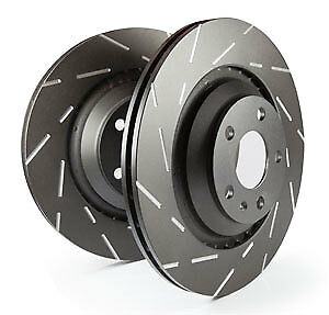 EBC Ultimax Front Vented Brake Discs for Jeep Grand Cherokee 3.0 TD (2005 > 11)