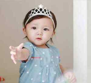 1Pc Ragazze Principessa FASCE Baby Hairbands CORONA DIADEMA Bambino Ragazza Capelli Tiare  </span>