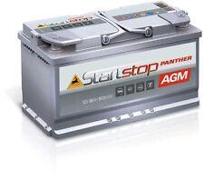 Starterbatterie Panther Start+Stop AGM 12V 90Ah 850A ersetzt 95Ah