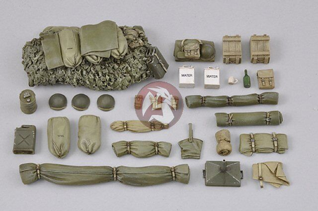 Royal Model 1 35 British Sherman Mk.III (M4A2)  Clive  Stowage Set WWII 591