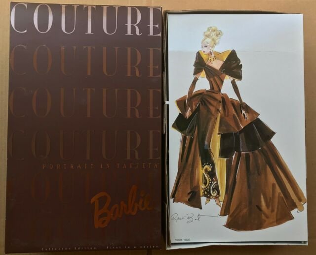 """1996 Barbie Doll """"PORTRAIT IN TAFFETA"""" Mattel Couture Limited Edition NRFB"""