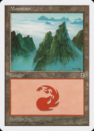 LP FREE US SHIPPING! MTG X4: Mountain C Portal Three Kingdoms 175