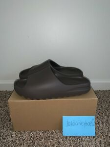 BRAND NEW Adidas Yeezy Slide Soot Size 14 SHIPS FAST GX6141