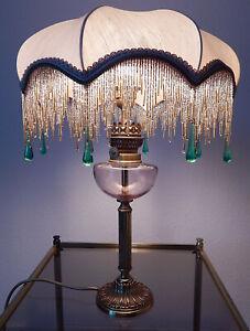 TISCHLAMPE-ARTE-et-DECORE-1-flammig-JUGENDSTIL-ART-NOVEAU-80er-Jahre