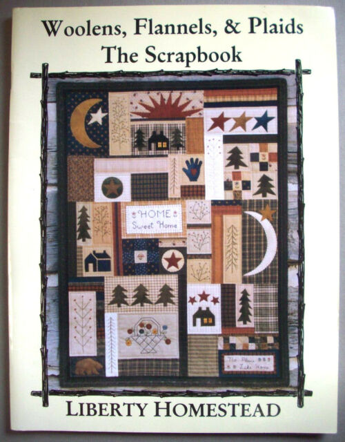 Wool Flannels Plaids The Scrapbook Embroidery Quilt Patterns