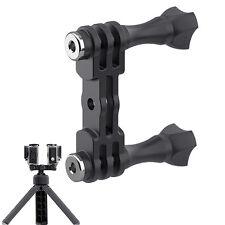 Dual Stud Mount Bracket Holder Camera Parts For Gopro Camera Outdoor