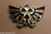 Nintendo The Legend Of Zelda Black And Gold Triforce Belt Buckle