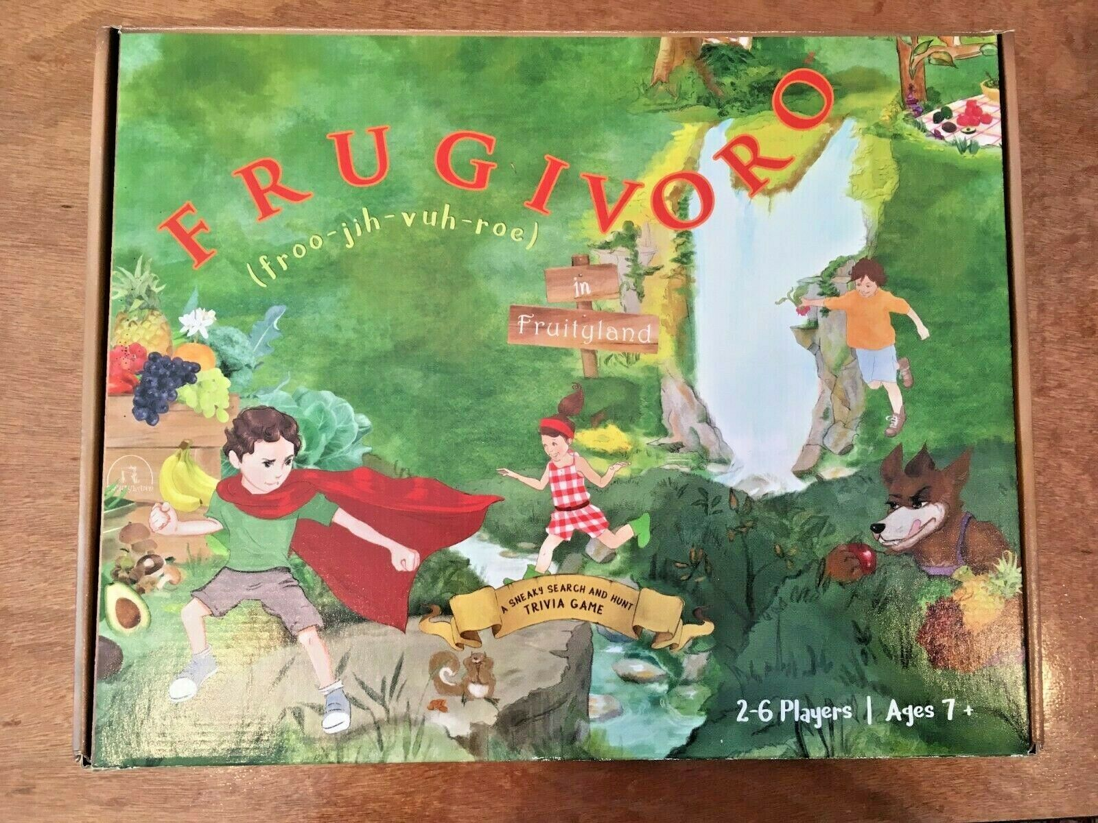 Frugivgold in Fruityland  A Sneaky Search & Hunt Trivia Mystery Health Board Game