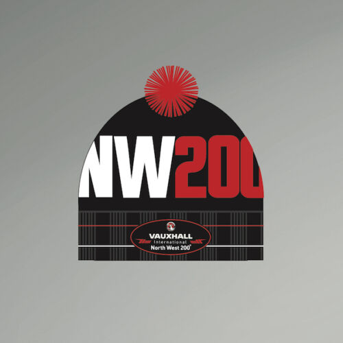 Official  North West 200 Beanie Cap
