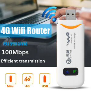4G-Unlocked-LTE-USB-Dongle-Mobile-Router-WIFI-Car-Broadband-Modem-WLAN-SIM-Card
