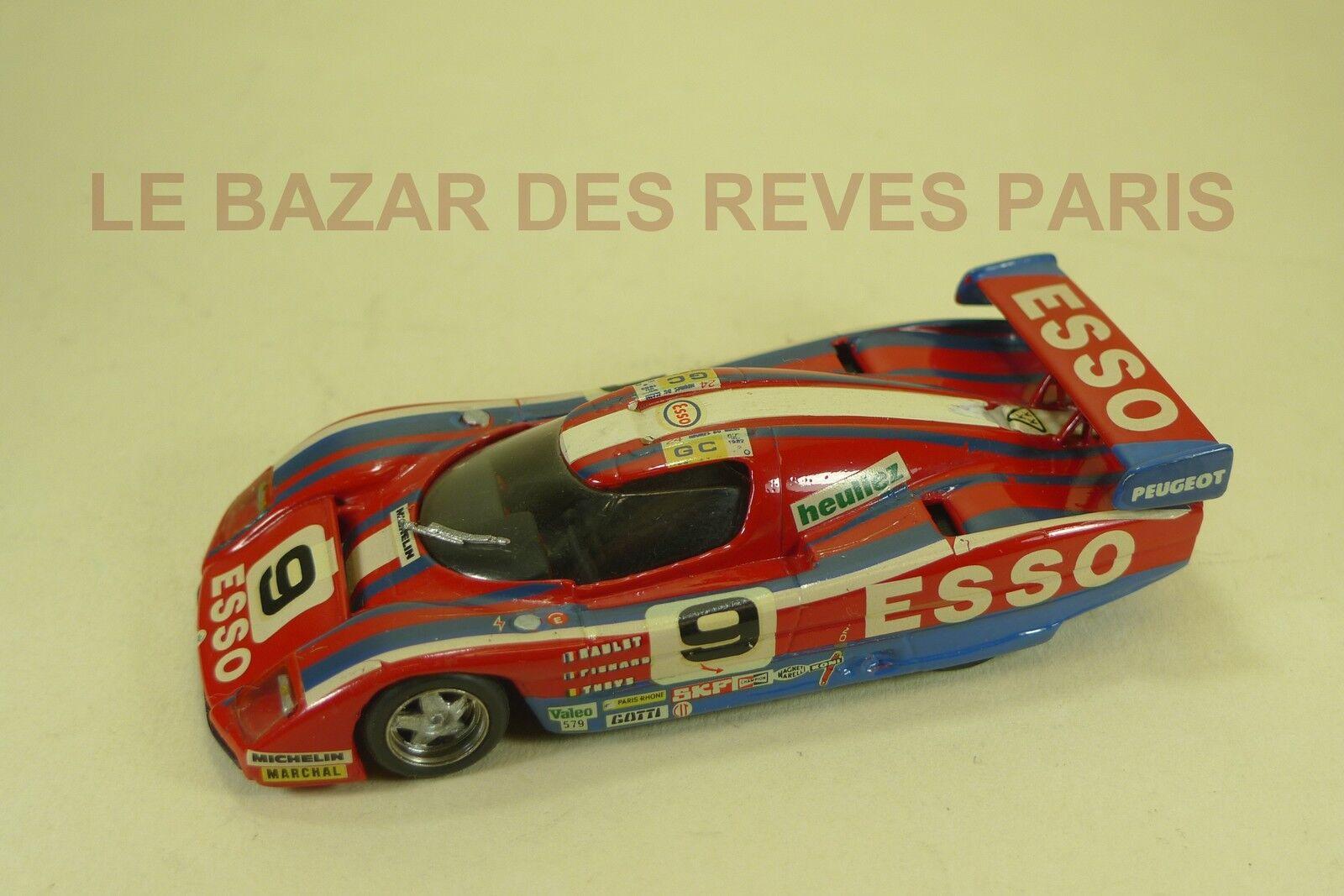 TENARIV.  WM. Le Mans. 1982.  KIT métal monté. échelle 1 43