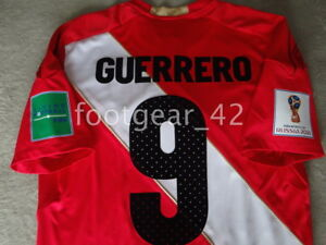 ac8d73ea0 Image is loading Umbro-Peru-Official-Away-Paolo-Guerrero-Authentic-Jersey-