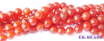 Natural Carnelian Round Jewellery Beads 2-16mm Red Beads Discount for Wholesale