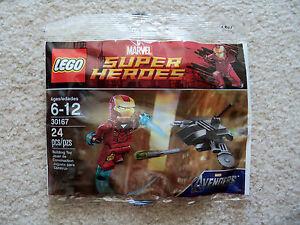 LEGO-Marvel-Superheroes-Iron-Man-vs-Fighting-Drone-30167-New-amp-Sealed-Rare