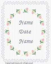 ANNIVERSARY/WEDDING Counted Cross Stitch Chart