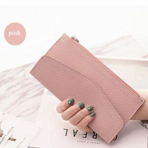 Holder Hand Clutch Money Coin Bag Card Holder Long Purse Envelope Wallet