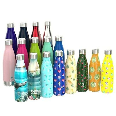 12oz 280ml Ion8 Leak Proof Vacuum Insulated Drinks Flask Keeps Hot or Cold