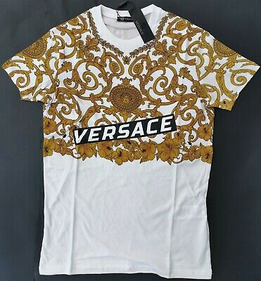 2XL L XL Brand New With Tags Men/'s VERSACE Slim Fit T-SHIRT Size M