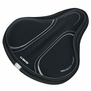 Most Comfortable Bike Seat for Men//Women Padded Bicycle Saddle with Soft Cushion