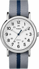 "Timex TW2P72300, Men's ""Weekender"" Gray Fabric Strap Watch, Indiglo,TW2P723009J"