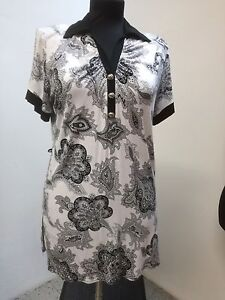 bottoni Dream colletto Fashion donna 2w a shirt stampa V T Paris polo scollo decorativi qPwCpYE