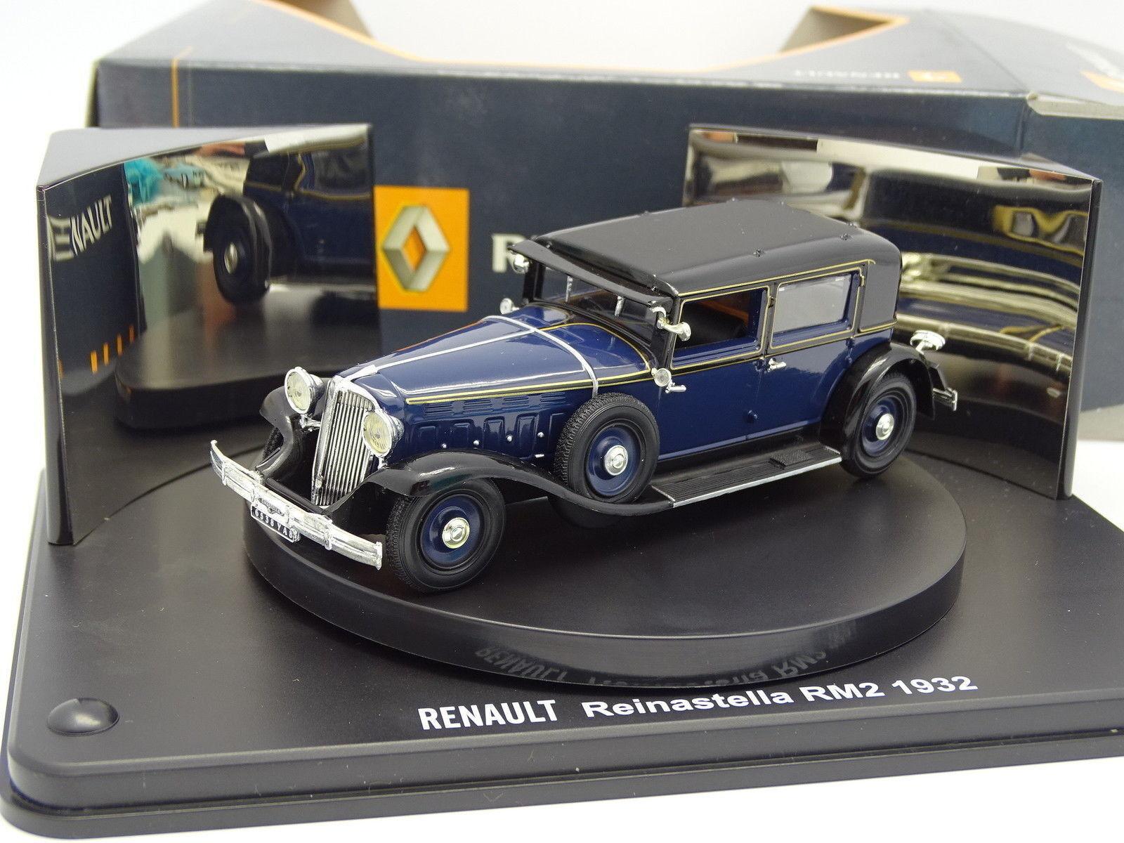 Norev 1 43 - Renault Reinastella RM2 1932 Bleue