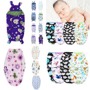 Infant-Newborn-Baby-Swaddle-Wrap-Soft-Short-Plush-Blanket-Swaddling-Sleeping-Bag