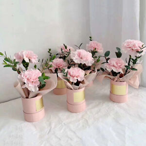 5colors Round Flower Box Florist Packing Flowers Gift Boxes Paper Wholesale Ebay