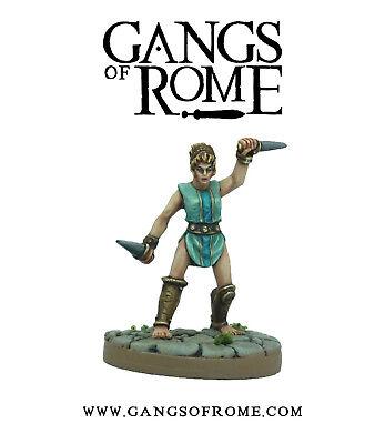 Avere Una Mente Inquisitrice Fighter Nonus-bande Di Roma * Guerra Banner/warlord Games *- Da Processo Scientifico