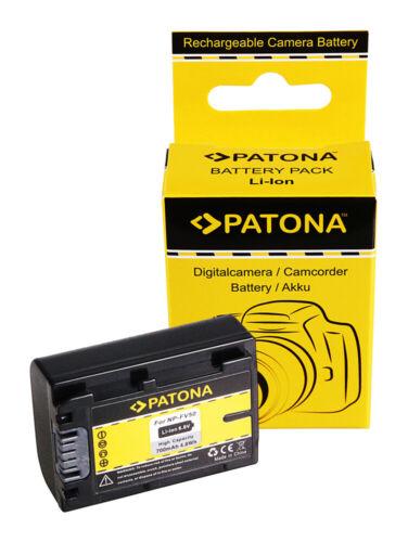 Batteria Patona 700mAh per Sony HDR-CX260V//W,HDR-CX260VE,HDR-CX280,HDR-CX280E