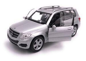 Mercedes-Benz-GLK-SUV-Modellauto-Auto-LIZENZPRODUKT-1-34-1-39-versch-Farben