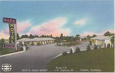Park Motel  5010 N. DALE MABRY, U.S. HIGHWAY 92 ~Tampa, Florida Vintage Postcard